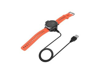 USB Charging Cradle Dock Charger Cable for AMAZFIT Pace Watch- Black