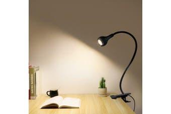Highlight USB clip-on table lamp- Black White