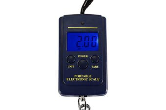 Electric Portable Scale- Deep Blue