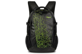 Men's Printing Business Backpack Large-capacity Comfortable Carrying Computer Bags- Black