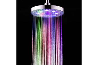 BRELONG 8 - inch LED Color Shower Round Spray- Colorful