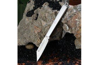 Sanrenmu A103 Portable Folding Knife- Silver