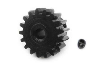 0088 Metal 17T Motor Pinion Gear- Black