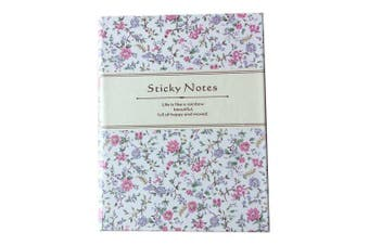 QCY-101936 Cute Notebook with Sticky Notes for Students- Multicolor