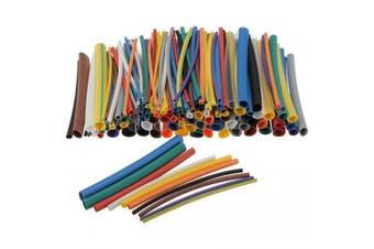 12 Colors Heat Shrink Tubing Kit Pack 144pcs- Multi-A