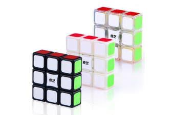 QiYi 1 x 3 x 3 Magic Cube Puzzle Toy- White