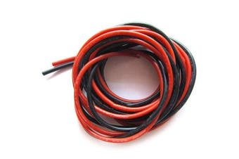 1 Meter 28AWG 1.2mm PVC Wire for DIY RC Drone- Black