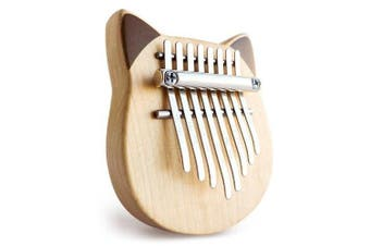 Vvave 8 Key Cat Kalimba Thumb Piano from Xiaomi youpin- BurlyWood