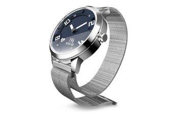 Lenovo Watch X Bluetooth Waterproof Smartwatch- Silver