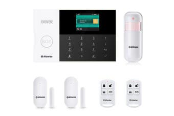 Alfawise PG - 105 GSM WiFi 433MHz Wireless Smart Home Security Alarm System DIY Kit- Black EU Plug