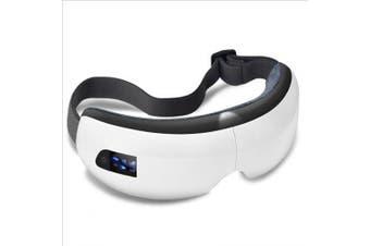 Wireless Eye Massager Air Compression Eye Massage with Music Smart Eye Massage Heated Goggles- White China