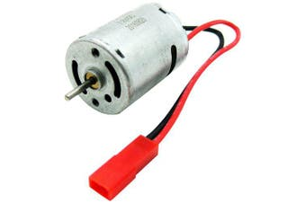370 Brushed Motor with Wires for 1/16 1/18 Hsp Traxxas Arrma RC Model Car- Silver