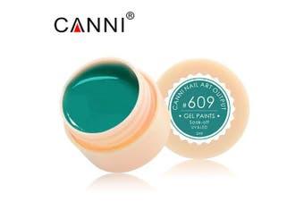 CANNI Paint Supply LED UV Color Gel Soaks- #609
