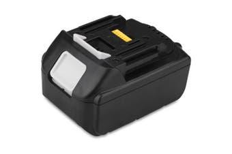 FLOUREON 18V 3Ah Lithium-ion Replacement Battery for MAKITA Cordless drill 194205-3 LXT-400 BL1830 BL1815 BL1835, JR120D, JR120DRF, JR120DZK- Black