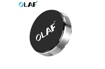 OLAF Magnetic Car Phone Holder Phone Free Paste Air Vent Stand Universal For iPhone Samsung Xiaomi- Silver