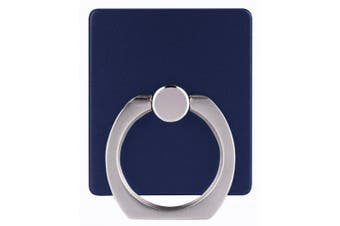 360 Degree Finger Ring Phone Stand Holder- Deep Blue