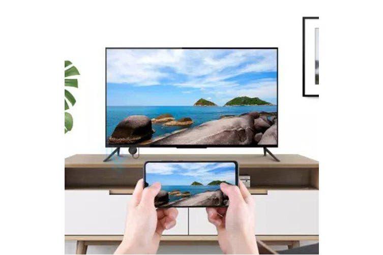 HAGIBIS WFD0525G 1080P HD Wireless Smart Display Dongle- Black