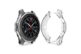 TPU Plating Protective Case for Samsung Gear S3 Watch- Transparent