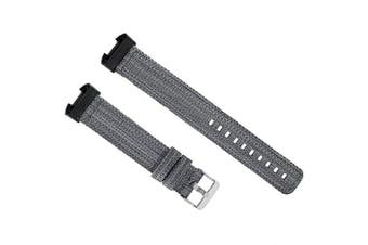 Nylon Watch Strap for Fitbit Charge 3- Black