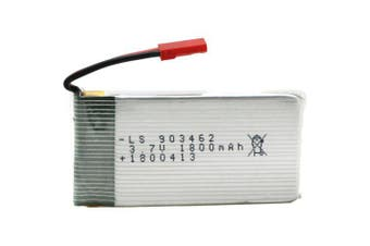 RAULES POWER 3.7V 1800mAh Lithium Polymer Battery for RC Aircraft- Platinum