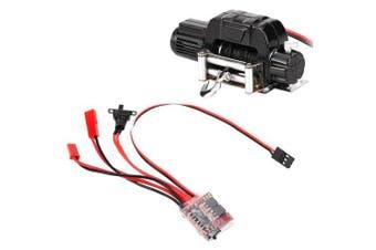 Winch 30A ESC for 1/10 RC Car Traxxas HSP Redcat RC4WD Tamiya Axial SCX10 D90 HPI- Black