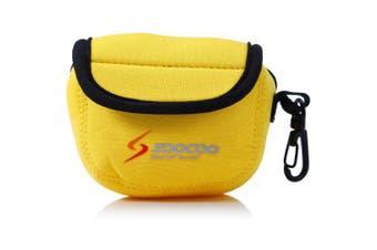 Original SOOCOO Action Camera Storage Protective Bag- Yellow
