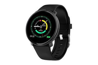 COLMI M31 Fitness tracker Heart rate tracker Smart watch for iphone and Andriod phone- Black