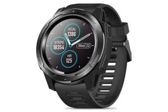 Zeblaze VIBE 5 1.3 inch Bluetooth Smartwatch Smart Sports Watch- Black