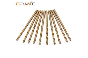 Cobalt Drill Bits For Metal Wood Working M35 HSS Co Steel Straight Shank 1.0-3.0mm Twist Drill Bit- China 3042-1.5x10pcs
