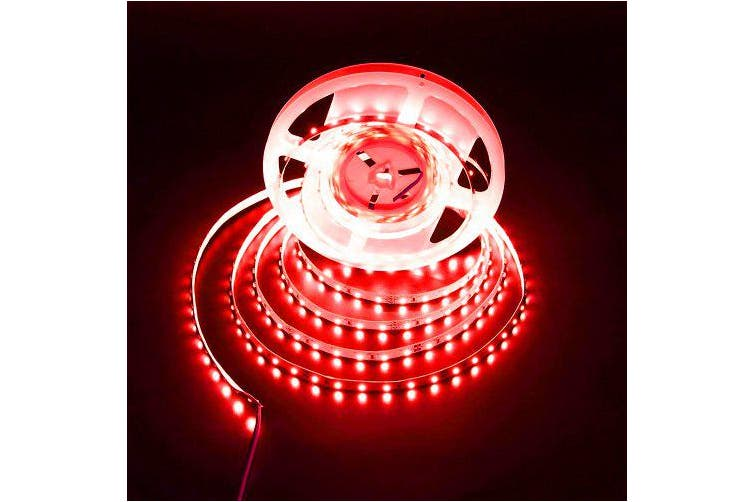 ZDM 5 M 16.4ft 300 x 2835 SMD LEDs Waterproof Various Colours Strip Light Ribbon Tape Roll DC12V- No-Waterproof IP20 Cold white