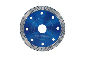 105mm Diamond Saw Blade for Porcelain Tile Ceramic Cutting- Blue 105