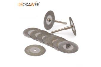 10pcs a set 30mm Mini Diamond Saw Blade Silver Cutting Discs Circular Saw Abrasive Sawblade- China 16mm Multipurpose Cutting