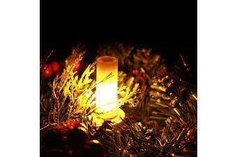 ZDM 4PCS MINI Flickering Flame LED Bulbs G4 Bi-pin Ceramics Base 2W 1800K AC12V DC12V- warm orange 1 PC