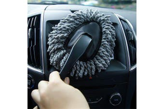 Auto Car Truck Cleaning Wash Brush Dusting Tool- Black