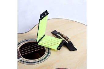 Strings Scrubber Guitar Bass Instrument Fingerboard Cleaner- Black