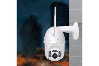 Xiaovv MVR3120S-B7 1080P Smart WiFi Network IP Camera Outdoor IP66 Waterproof 360° PTZ Security Monitor from Xiaomi youpin- White EU Plug