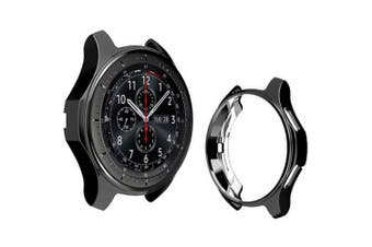 46mm TPU Plating Case for Samsung Galaxy Watch- Black