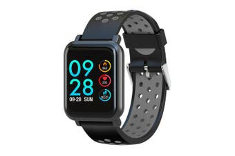 COLMI S9 PLUS Smart Watch with Fitness tracker for iPhone and Android phone- Black