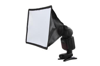 Mini Photo Reflector Flash Professional Softbox Photography for Canon Nikon Sony- Carbon Fiber Black