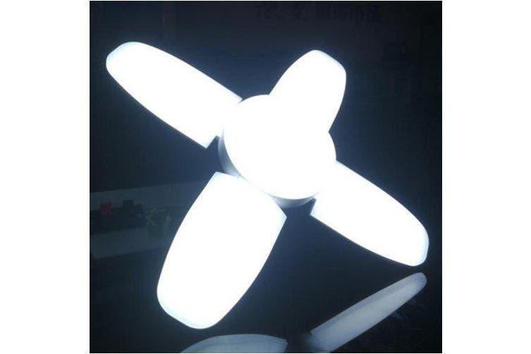 Creative LED Bulb Folding Light Home Indoor Lamp- Cool White