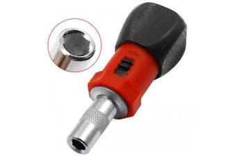 Mini 180-degree Rotatable Small Square Handle Ratchet Screwdriver- Multi-A