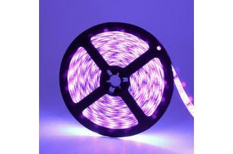Waterproof DeepDream Black Light UV 395-400nm 3528 SMD Flexible LED Strip DC12V- Purple 1 Meters