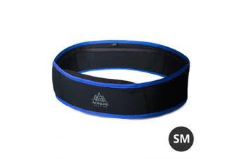 AONIJIE W938 Slim Running Waist Belt Jogging Bag Fanny Pack Money Marathon Gym Workout Fitness- SM Black Blue China