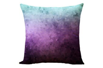 T.T.STYLE Starry Sky Design Cotton Linen Pillow Cover Home Decoration- Colormix LXJH (680)