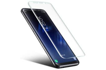 0.1mm Ultra-thin PET Screen Protector for Samsung Galaxy S8 Plus 3D Heat bending Membrane- Transparent