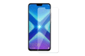 Screen Protector Tempered Glass 2.5D Round Edge for Huawei Honor 8X 1pcs- Transparent 1pc