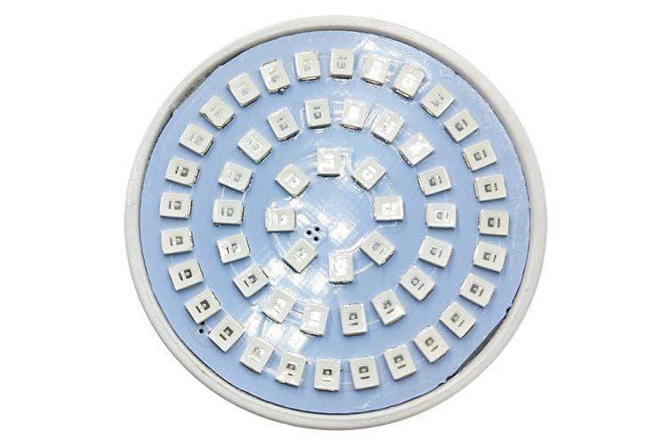 BRELONG E27 E14 GU10 MR16 54LED 2835 Plant Cup Light AC 220-240V 1PC- White E27