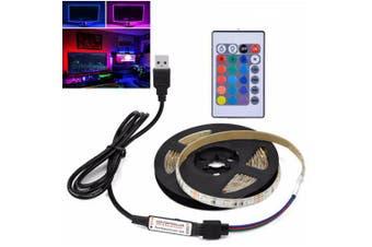 2835SMD DC5V 3M Waterproof USB LED with HDTV Desktop Screen TV Background Ambient Light- Multi-W