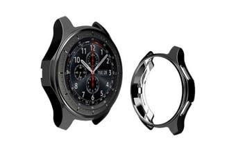 Plating Case for Samsung Galaxy Watch 42mm Gear S3- Black