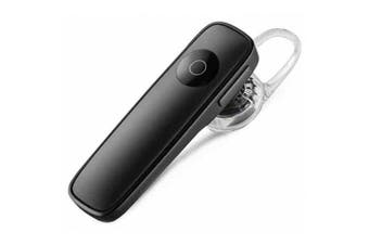4.0 Earphone Wireless Bluetooth Mini Stereo Headset Headphone with Microphone- Black